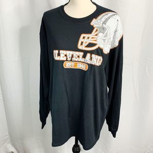NFL Cleveland Browns heavy weight long sleeve L